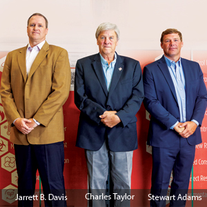 Jarrett Davis, National Technical and Building Science Director, Charles Taylor, President of Taylor Clay and Stewart Adams, Vice President of Taylor Clay, MaxLife Industries