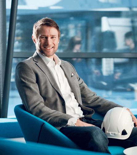 Teemu Kivimäki, CEO, Infrakit