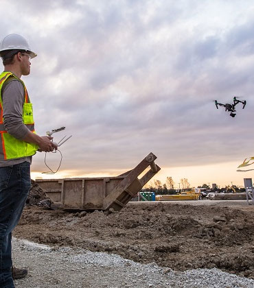 How Can Drones Work For The Construction Industry?