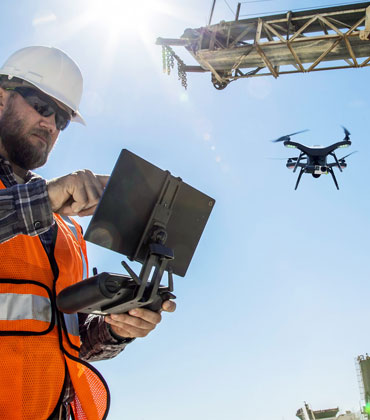 Why the Popularity of Drones are Rising at Job Sites