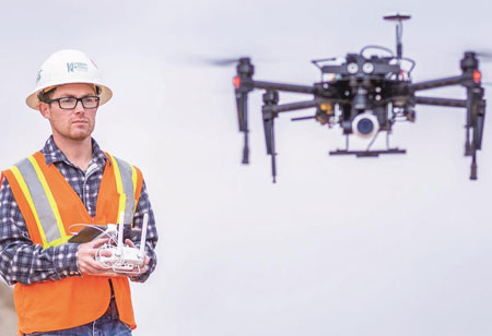 Can LIDAR Drones be the Game-Changers in Construction?