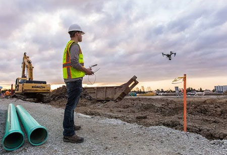 How will the Construction Companies Benefit from Drone