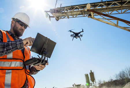 Advantages of Drones in a Construction Industry