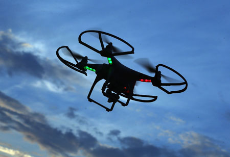 Skyrocketing Usage of Drones at Construction Sites