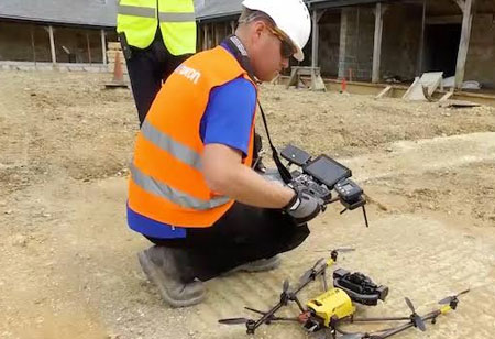How Can CIOs Use Drones in a Construction Startup?
