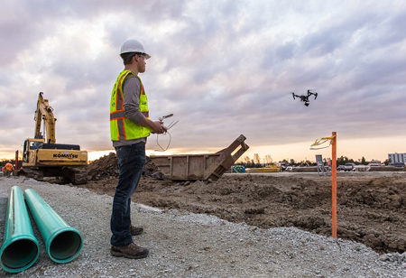 The Massive Opportunities for Drones in Construction