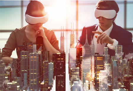 Driving Construction with AR, VR, and Wearables