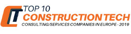 Top 10 Construction Tech Consulting/Services Companies In Europe - 2019