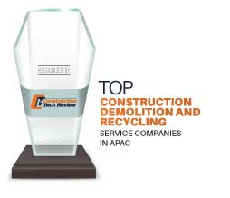 Top 10 Construction Demolition and Recycling Service Companies in APAC - 2021