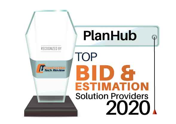 Top 10 Bid and Estimation Solution Companies - 2020